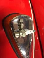 Beetle Turn Signal with ST125 Spark Tester on it