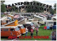 Transporterfest 2019 award plaque