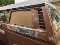 Rear quarter window replacement