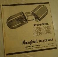 Ad, Maryland VW