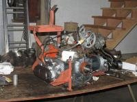 VW saw mill engine