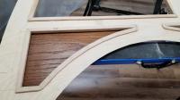 Vw beetle woody wagon panel