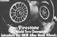BRM- Firestone wheels from ALCAN