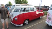 Split-Window Double Cabs  at the North Bay Air Cooled 2019 Meet at Vacaville VW, CA