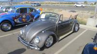 Convertible Bugs at the North Bay Air Cooled 2019 Meet at Vacaville VW, CA