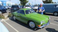 """Shamrock Shake"" (Kathy's 1971 Ghia) at the North Bay Air Cooled 2019 Meet at Vacaville VW, CA"