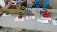 Toy Table at the North Bay Air Cooled 2019 Meet at Vacaville VW, CA