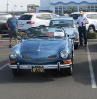 Convertible Ghia at the North Bay Air Cooled 2019 Meet at Vacaville VW, CA