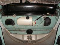 Windsield washer w/electric pump