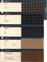 1986 Vanagon Colors Chart Full Line
