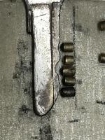Neiman Steering Lock pins