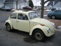 My new 1970 VW Beetle 'Rust Bucket'