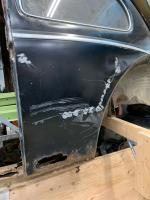 54 Oval Lower Rear Quarter Panel Removal