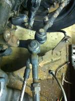 Steering Stop on ball joint suspension '68