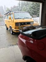 Early Vanagon snow