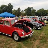 69 VW Beetle at Cincy VW Car show
