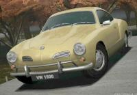 GT4 Video Game Rendering Karmann Ghia 1500 Coupe