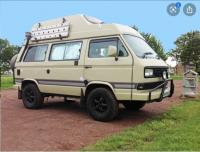 South African VW syncro with high roof and big tires