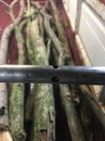 Wear on gearbox connecting shaft
