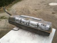 Sanding the fuel tank during spring