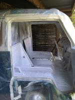 Painting the driver cabin - 1967 Volkswagen T1