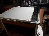 '71 Camper Interior - Sink Table Top