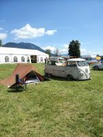 Single cab camping