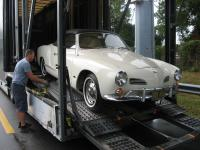 1966 Karmann Ghia Convertible L582 Arcona White