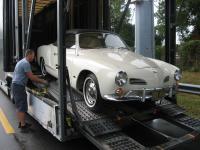 1966 Karmann Ghia Convertible L582 Arcona White