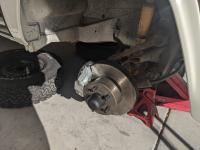 1974 Westfalia Weekender Hardtop New front brakes