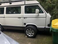 Mercedes wheels on vanagon
