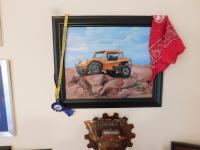 Dune Buggy Art Work