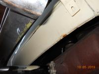 1971 Karmann Ghia vert. Paint and body work quality poor