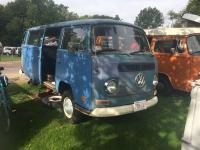 My bus in pieces at Transporterfest 2018