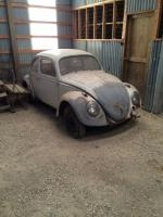 1961 Bug - Rescue and Patina Build