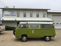 1977 sage green westfalia campmobile project