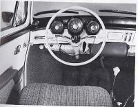 Type 3 white steering wheel