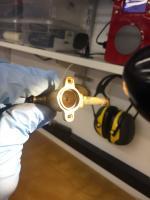 Vanagon stove valves