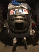 72 super beetle paint project