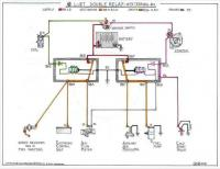 super beetle fuel injection double relay diagram