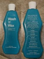 VW Wash and Wax bottle