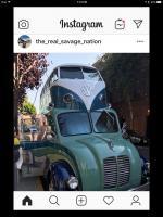 Instagram Split monster