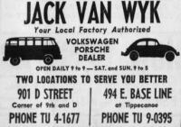 Van Wyk San Bernardino 1965