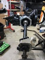 Swing Axles Installed
