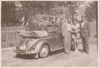 Vintage VW Cabriolet photo