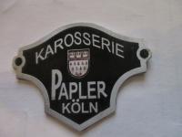 Karosserie Papler Köln badge