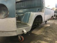 single cab metal work