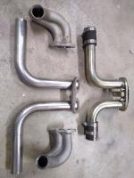 End castings Ported and mandrel bent tube