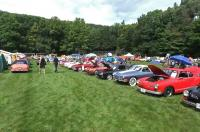 Karmann Ghias at Aircooled Gathering, Flanders NJ 9/2014