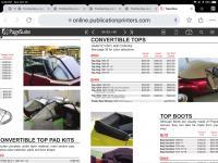 Ghia convertible tops